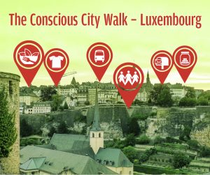The Conscious City Walk - Luxembourg (FR) @ Casemates du Bock