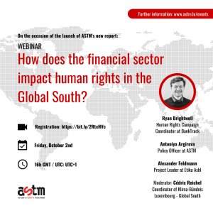 Webinar: How does the financial sector impact human rights in the Global South?