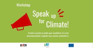 Workshop: Speak up for Climate!